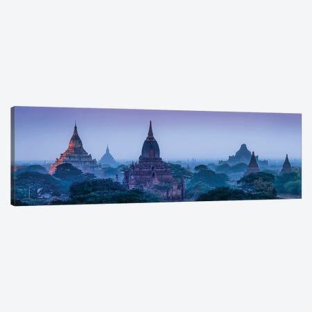 Ancient Temples At Dusk, Bagan, Myanmar Canvas Print #JNB1161} by Jan Becke Canvas Art Print