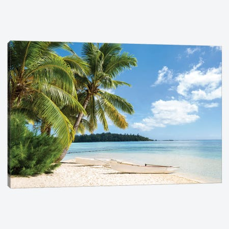 Tropical Beach Canvas Print #JNB116} by Jan Becke Canvas Art