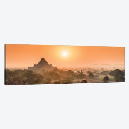 Dhammayangyi Temple At Sunrise, Bagan, Myanmar Canvas Print #JNB1171} by Jan Becke Canvas Artwork