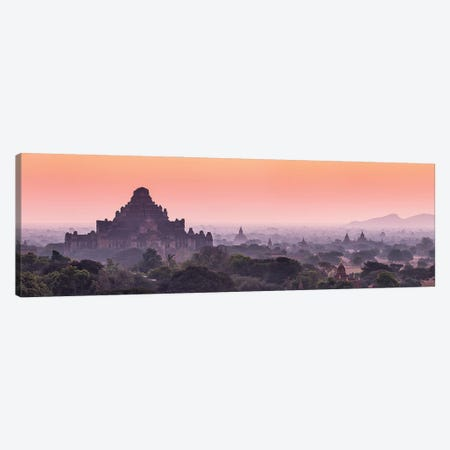 Dhammayangyi Temple At Dawn, Old Bagan, Myanmar Canvas Print #JNB1184} by Jan Becke Canvas Art