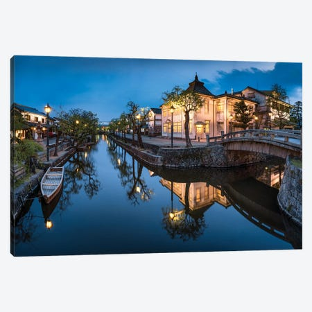 Bikan Historical Quarter In Kurashiki Canvas Print #JNB11} by Jan Becke Canvas Wall Art