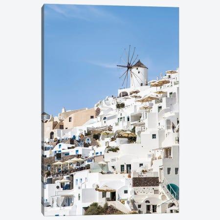White Houses In Oia, Santorini, Greece Canvas Print #JNB1202} by Jan Becke Canvas Artwork
