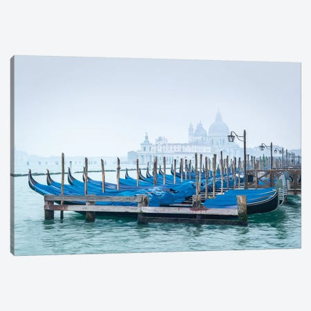 Venice In Winter Canvas Print #JNB120} by Jan Becke Canvas Wall Art