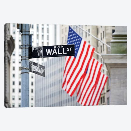Wall Street Canvas Print #JNB122} by Jan Becke Canvas Art