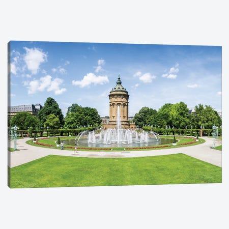 Mannheim Wasserturm At The Friedrichsplatz Square, Baden-Württemberg, Germany Canvas Print #JNB1248} by Jan Becke Canvas Art