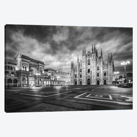 Milan Cathedral (Duomo Di Milano) At The Cathedral Square Canvas Print #JNB1409} by Jan Becke Canvas Wall Art