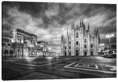 Milan Cathedral (Duomo Di Milano) At The Cathedral Square Canvas Art Print