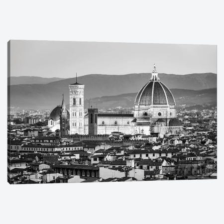 Florence Cathedral In Black And White Canvas Print #JNB1411} by Jan Becke Canvas Art Print