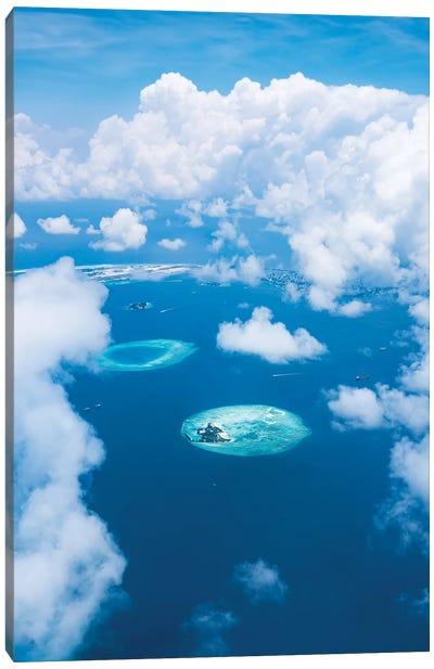 Maldives South Ari Atoll Canvas Art Print