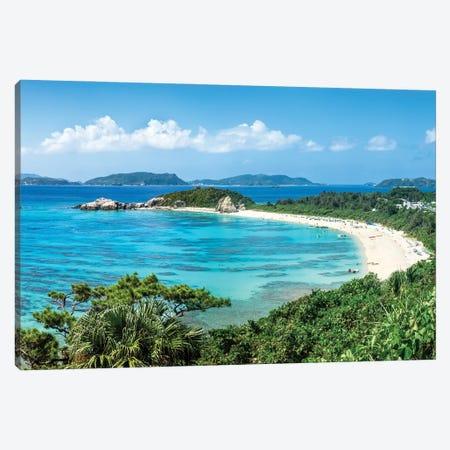 Aharen Beach, Tokashiki Island, Kerama Islands Group, Okinawa Canvas Print #JNB1437} by Jan Becke Canvas Art