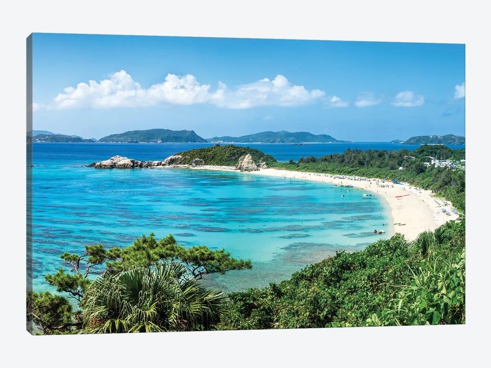 Aharen Beach, Tokashiki Island, Kerama Islands Group, Okinawa by Jan Becke 1-piece Canvas Print