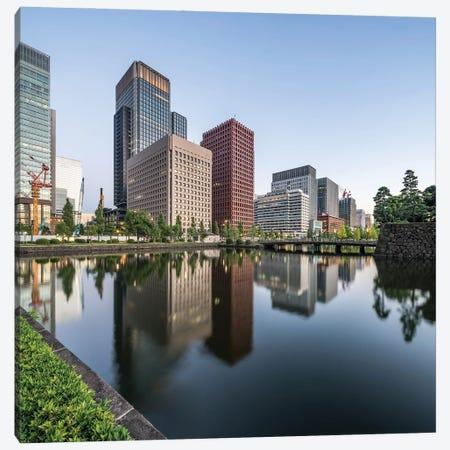 Marunouchi Business District In Tokyo, Japan Canvas Print #JNB1440} by Jan Becke Canvas Art
