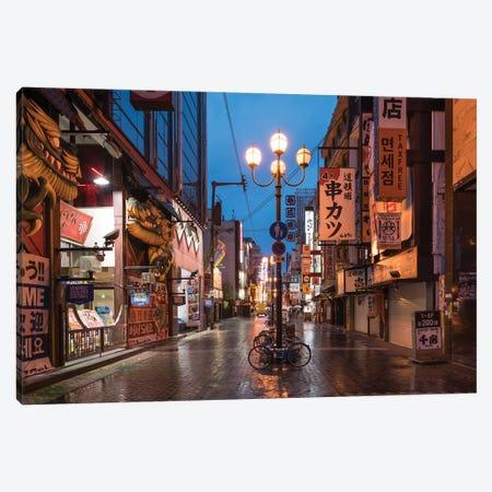Dotonbori District, Osaka, Kansai, Japan Canvas Print #JNB1460} by Jan Becke Canvas Wall Art