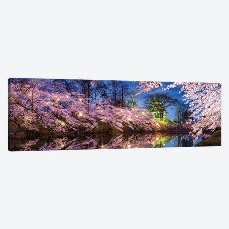 Cherry Blossom Festival At Takada Castle, Joetsu, Niigata Prefecture, Japan Canvas Print #JNB1470} by Jan Becke Canvas Art Print