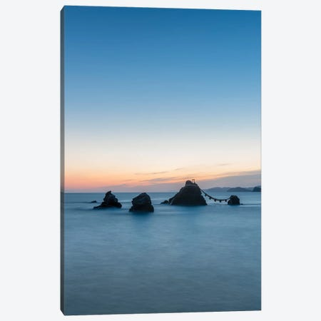 """Meoto Iwa Rocks Also Known As The """"Wedded Rocks"""", Mie Prefecture, Japan Canvas Print #JNB1493} by Jan Becke Canvas Art Print"""