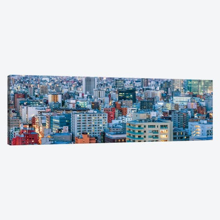 Urban Cityscape Panorama, Tokyo, Japan Canvas Print #JNB1526} by Jan Becke Canvas Art