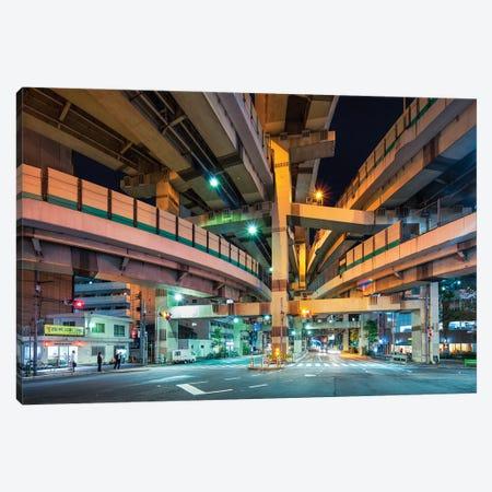 Hakozaki Highway Junction, Tokyo, Japan Canvas Print #JNB1536} by Jan Becke Canvas Art Print