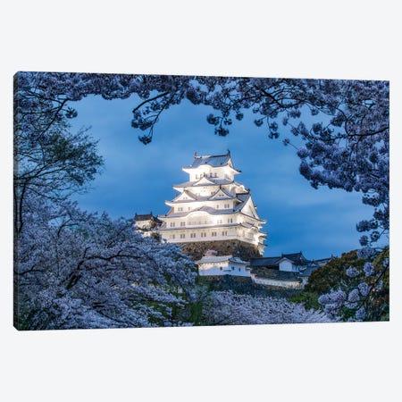 Himeji Castle At Night Canvas Print #JNB1544} by Jan Becke Canvas Art