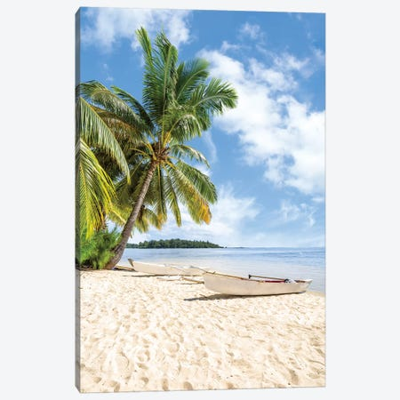 Tropical Paradise On Bora Bora Canvas Print #JNB154} by Jan Becke Canvas Art