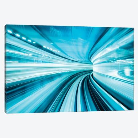 Concept Of Modern Technology 5G Internet Connection Canvas Print #JNB1576} by Jan Becke Art Print