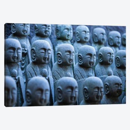 Buddhist Jizo Statues, Japan Canvas Print #JNB1578} by Jan Becke Canvas Art