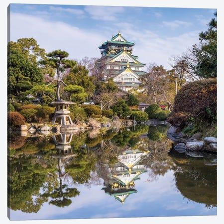 Osaka Castle And Nishinomaru Garden Canvas Print #JNB1599} by Jan Becke Canvas Wall Art