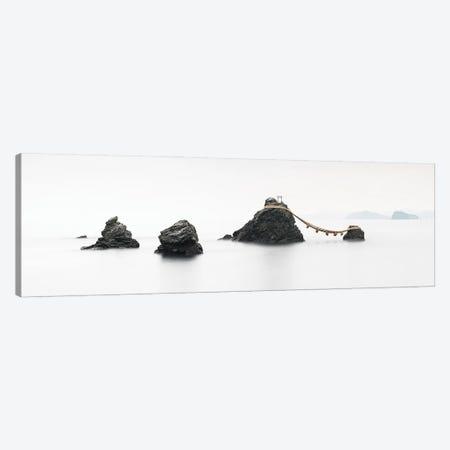 Meoto Iwa Rocks Panorama, Mie Prefecture, Japan Canvas Print #JNB1622} by Jan Becke Canvas Wall Art