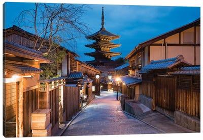 Yasaka Pagoda At Night, Kyoto Canvas Art Print