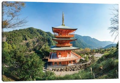 Pagoda At Kumano Nachi-Taisha, Wakayama Prefecture, Japan Canvas Art Print