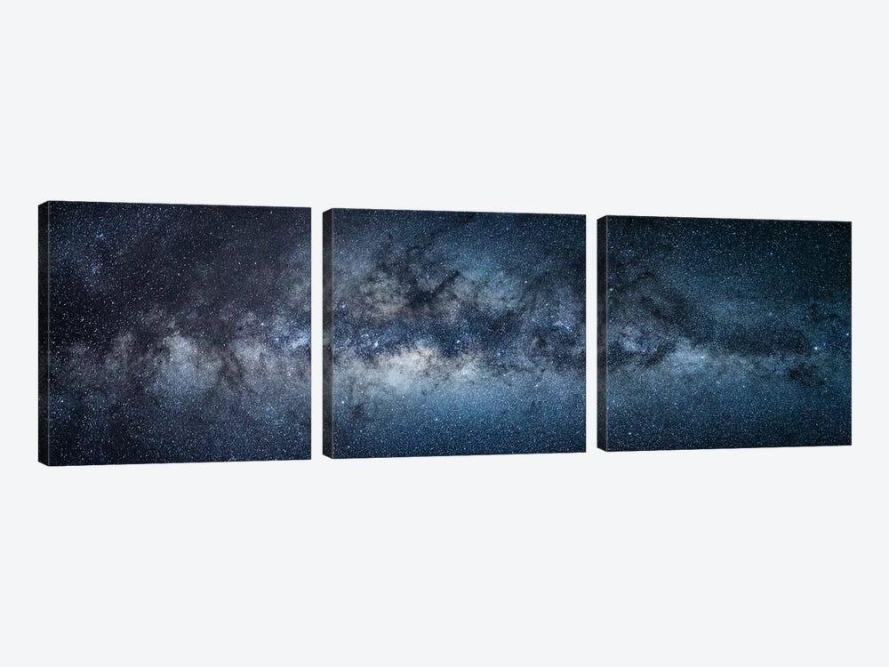 Milky Way by Jan Becke 3-piece Canvas Art