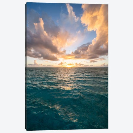 Sunset In The South Seas Canvas Print #JNB1664} by Jan Becke Canvas Print