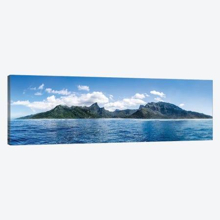 Island Of Moorea, French Polynesia Canvas Print #JNB168} by Jan Becke Canvas Art
