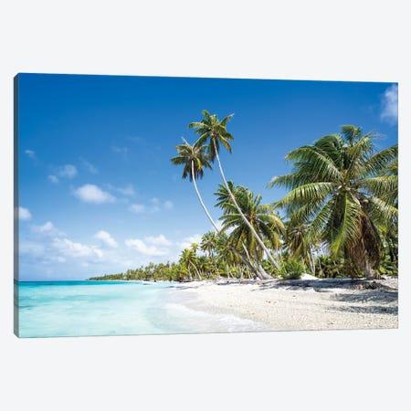 Tropical Island Paradise, French Polynesia Canvas Print #JNB1714} by Jan Becke Canvas Art Print