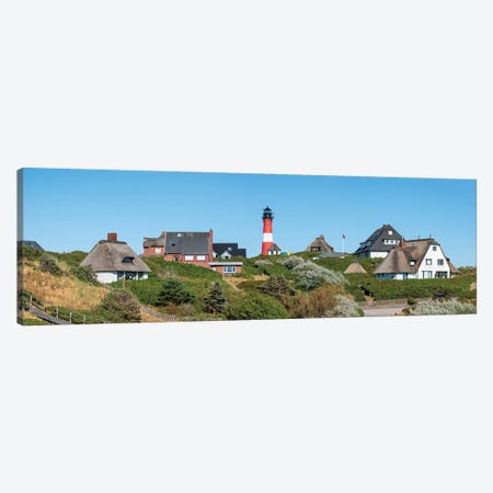 Panoramic View Of Hörnum With Lighthouse Hörnum, Sylt, Schleswig-Holstein, Germany Canvas Print #JNB1718} by Jan Becke Canvas Art