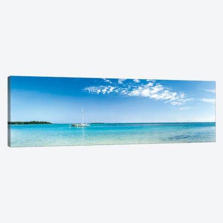 Panorama Of The Lagoon On Moorea Island Canvas Print #JNB171} by Jan Becke Canvas Art Print