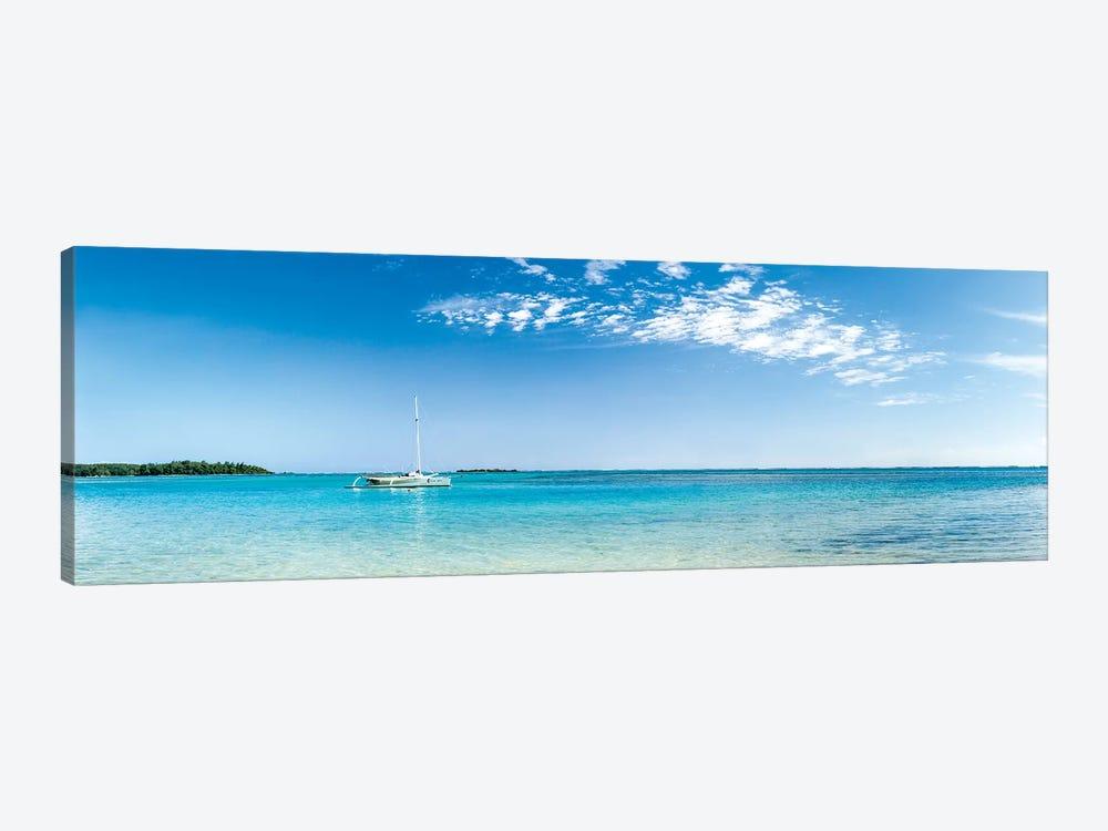 Panorama Of The Lagoon On Moorea Island by Jan Becke 1-piece Canvas Art