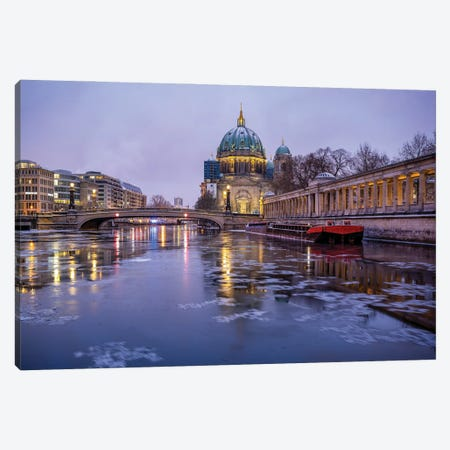 Berlin Cathedral (Berliner Dom) On Museum Island (Museumsinsel) In Berlin Mitte Canvas Print #JNB1747} by Jan Becke Canvas Wall Art