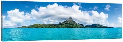 Mont Otemanu Of The Bora Bora Atoll, French Polynesia Canvas Art Print