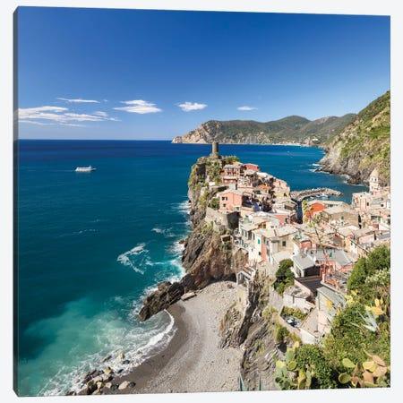Corniglia Is The Oldest Village In Cinque Terre, Liguria, Italy Canvas Print #JNB1819} by Jan Becke Canvas Print