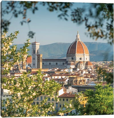 Florence Cathedral, Tuscany, Italy Canvas Art Print