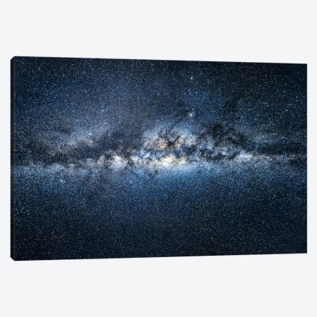 Milky Way Galaxy Canvas Print #JNB184} by Jan Becke Canvas Art Print