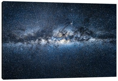 Milky Way Galaxy Canvas Art Print
