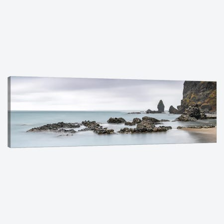 The Rocky Coastline On Hokkaido In Northern Japan Canvas Print #JNB207} by Jan Becke Canvas Art