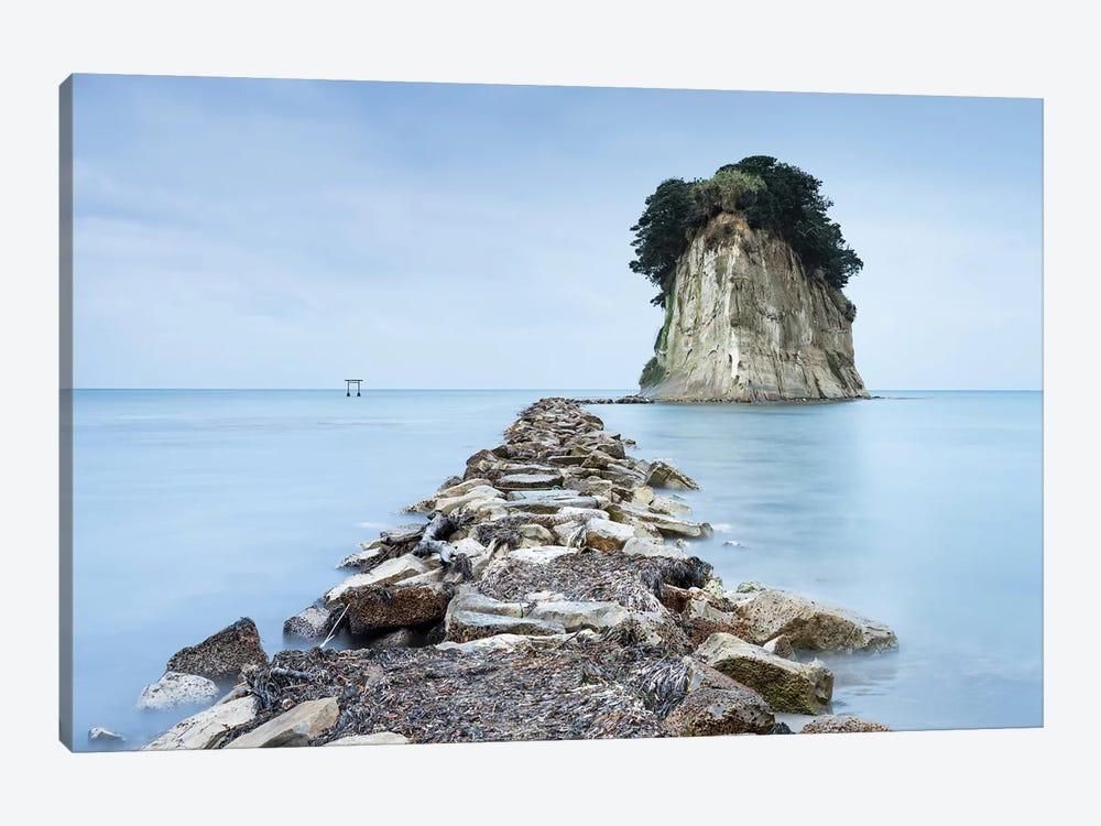 Mitsukejima Island Near Suzu by Jan Becke 1-piece Canvas Art