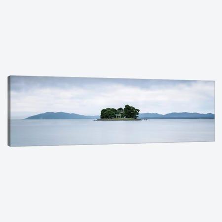 Yomegashima Island With Torii Gate Canvas Print #JNB210} by Jan Becke Canvas Wall Art