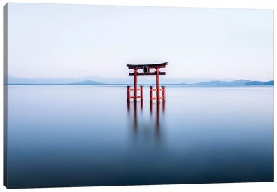 Floating Torii Gate Canvas Art Print