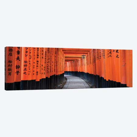 Fushimi Inari Taisha In Kyoto, Japan Canvas Print #JNB231} by Jan Becke Canvas Wall Art