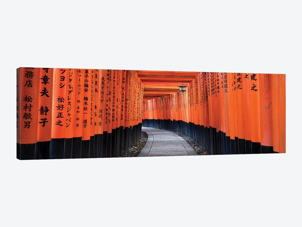 Fushimi Inari Taisha In Kyoto, Japan by Jan Becke 1-piece Canvas Wall Art