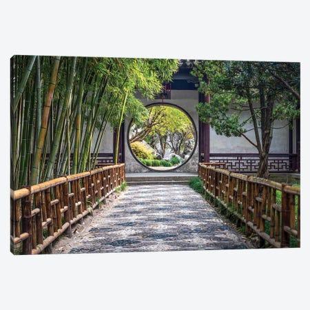 Classical Chinese Garden, Suzhou Canvas Print #JNB23} by Jan Becke Canvas Print