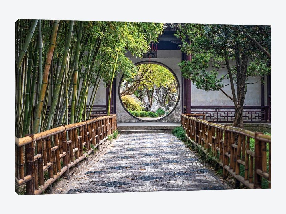 Classical Chinese Garden, Suzhou by Jan Becke 1-piece Canvas Wall Art
